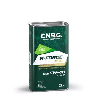 Масло моторное C.N.R.G. N-Force Elite 5W-40 SM/CF (1L) синтетика