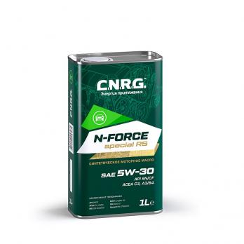 Масло моторное C.N.R.G. N-Force Special RS 5W-30 SN/CF; C3-A3/B4 (1L) синтетика