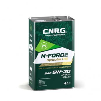 Масло моторное C.N.R.G. N-Force Special RS 5W-30 SN/CF; C3-A3/B4 (4L) синтетика