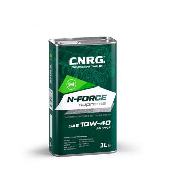Масло моторное C.N.R.G. N-Force Supreme 5W-40 SN/CF (1L) синтетика